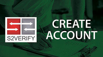 s2verify create account